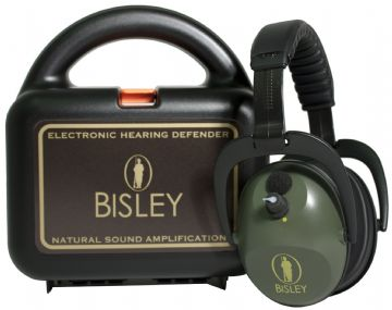Active Electronic Hearing Protection by Bisley